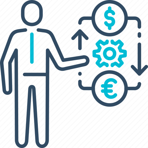 currency, dollar, exchange, money icon