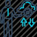 cloud, database, service, storage, upload icon