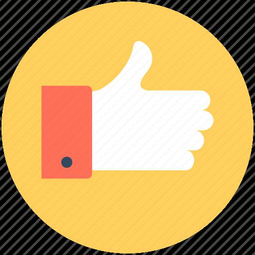 hand gesture, like, ok, social like, thumbs up icon