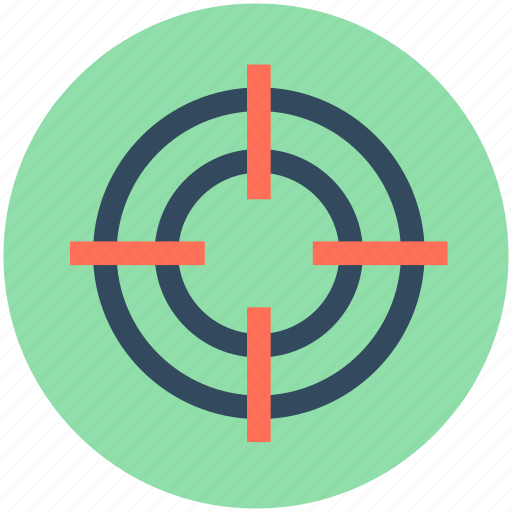 aim, business target, crosshair, focus, target icon