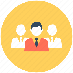 collaboration, group, network, organization structure, team icon