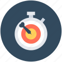aim, chronometer, deadline, objective, target icon