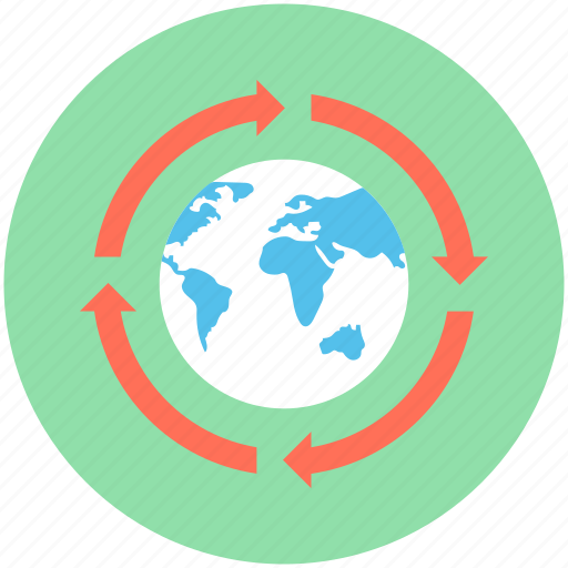 around the world, global, globe, international, worldwide icon