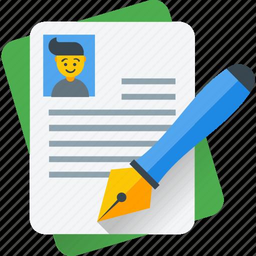 editor, pen, script writing, writing, writing article icon