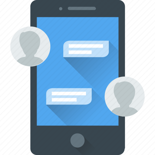 chat, comments, communication, mobile, talk icon