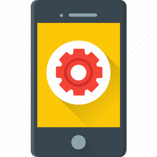 cogwheel, configuration, gear, mobile setting, setting icon