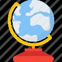 global, globe, world, world globe icon