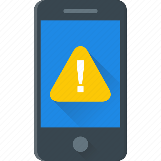 caution, exclamation, exclamation mark, mobile error, warning icon