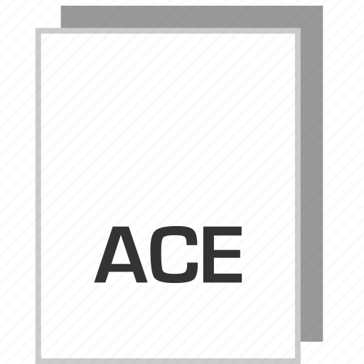 ace, document, file, type icon
