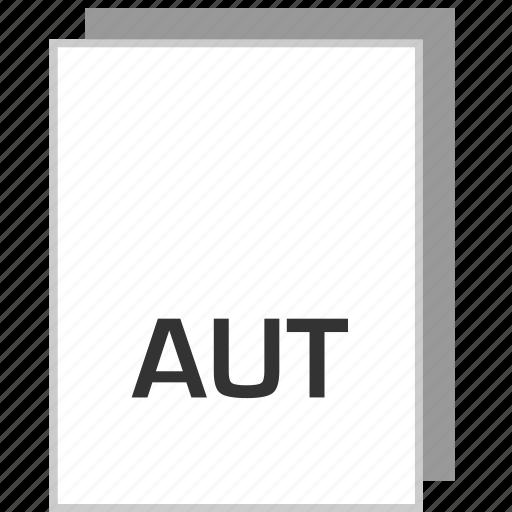 aut, document, file, type icon