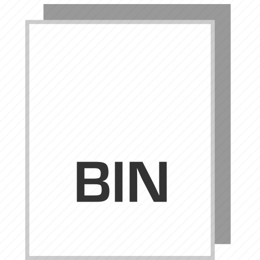 bin, document, file, type icon