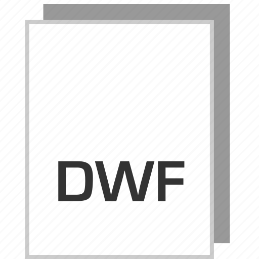 document, dwf, file, type icon