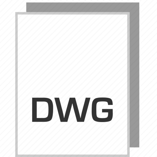 document, dwg, file, type icon