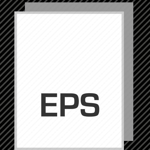 document, eps, file, type icon