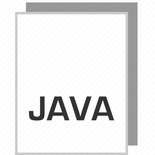 document, file, java, type icon