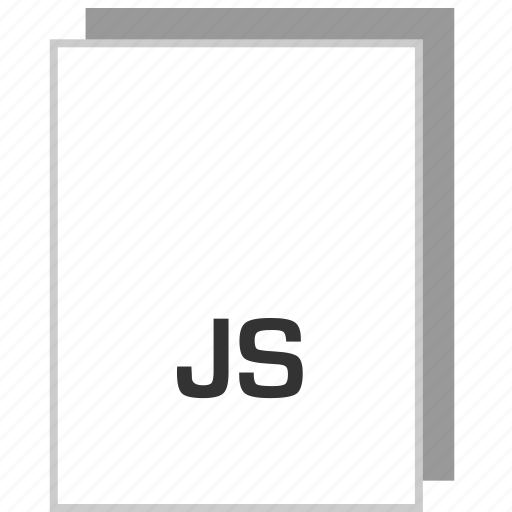 document, file, js, type icon