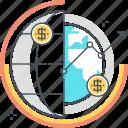 business, chart, global, income, money, profit, statistics