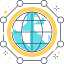 database, digital, global, globe, international connections, networking, planet