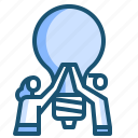 idea, teamwork icon