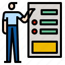 business, plan icon