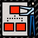 businessman, planning, strategy, tactics icon