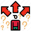 business, choice, condition, decisions icon
