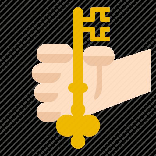 encryption, key, personal icon