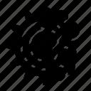 brain, cog, process icon