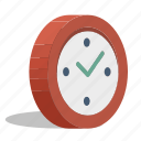 arrows, clock, minute, stopwatch, time, timer, watch icon