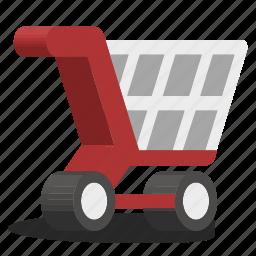 basket, cart, shop, supermarket icon