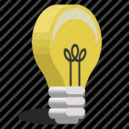 glass, idea, lamp, light icon