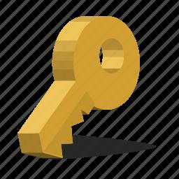 key, lock, password icon