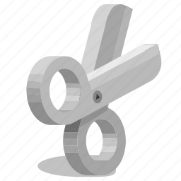 cutting, seamstress icon