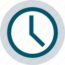 business, clock, time, web icon