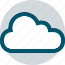 clear, cloud, rain, stormy, weather icon