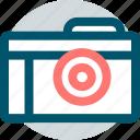 camera, digital, memory, shot, snap icon