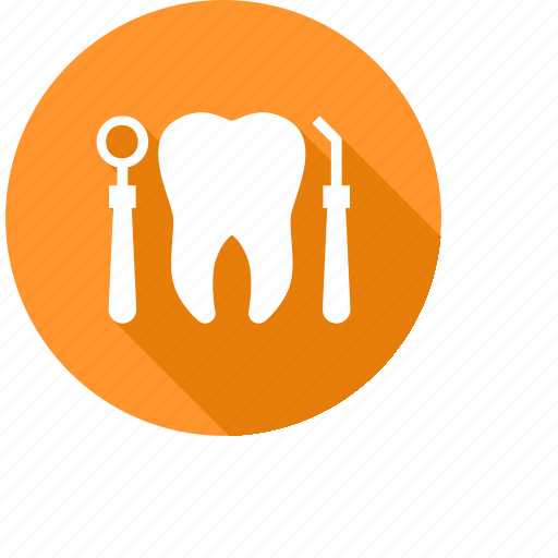 care, dentist, dentistry, doctor, mouth mirror, tooth, tooth cavity icon
