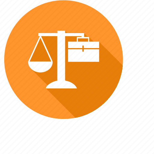 business, court, justice, scales, solicitors icon