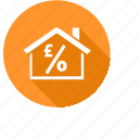 adisors, home, house, mortgage, spread icon