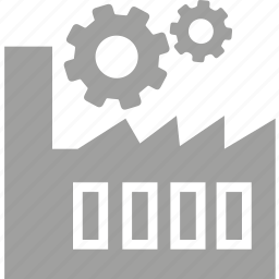 cog, factory, industry, manufacturing, system, wheel icon