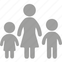 children, daycare, family, kids icon