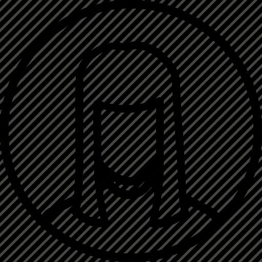 account, avatar, businesswoman, person, profile, user icon