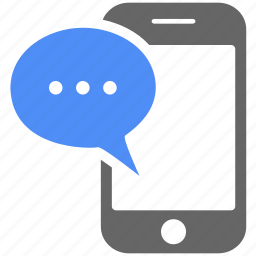 chat bubble, comment, communication, iphone, message, mobile, talk icon