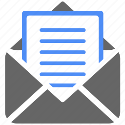 communication, email, envelope, letter, mail, message, subscription icon