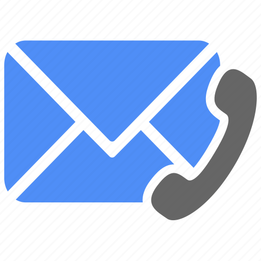 communication, fax, mail, message, mobile, phone, telephone icon