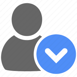 accept, account, avatar, check, good, person, tick icon