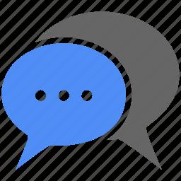 bubble, chat, chat bubble, comment, live chat, message, talk icon