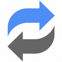arrow, arrows, recycle, refresh, reload, renew, update icon