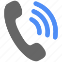 call, contact, mobile, phone, ringer, ringing, telephone icon