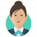 avatar, businesswoman, woman